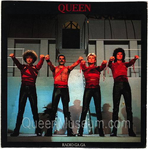 RADIO GA GA PROOF SLEEVE FREDDIE A reduced_qm