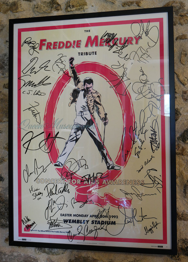 Freddie Mercury tribute poster